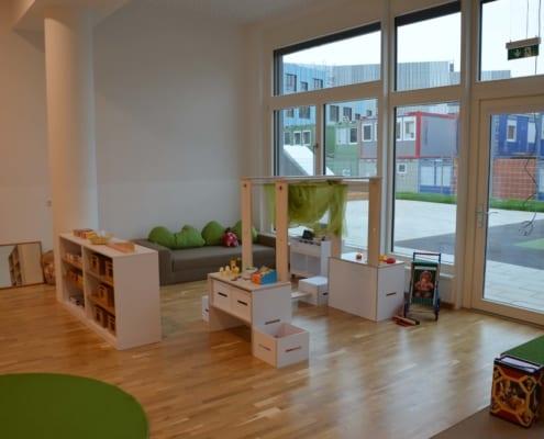Räumlichkeiten Kindergarten Lucia